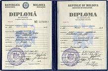 Перевод диплома Молдова