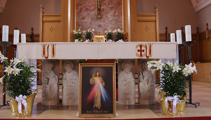 Divine Mercy at St. Theresa's