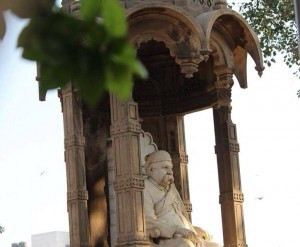 the man behind making ahmedabad, the 'manchester of India.'