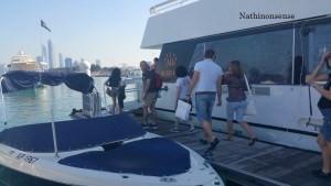 catamarian cruise