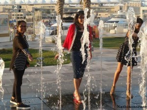 we playing in the fountains