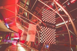 WELCOME PARTY AT FERRARI WORLD.   ~photo by oriflame