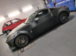 carbon wrap Nissan 350z