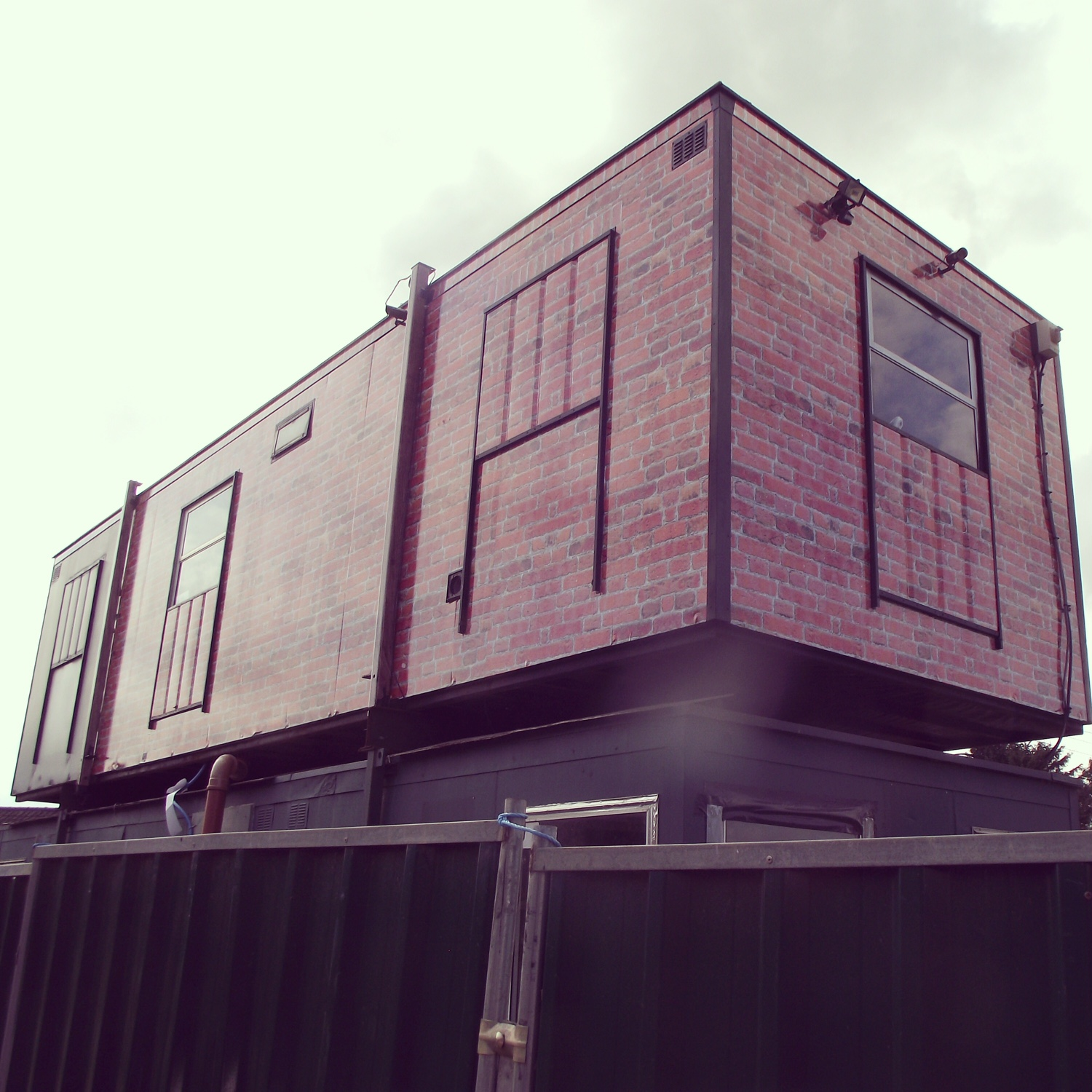 portacabin wrapped
