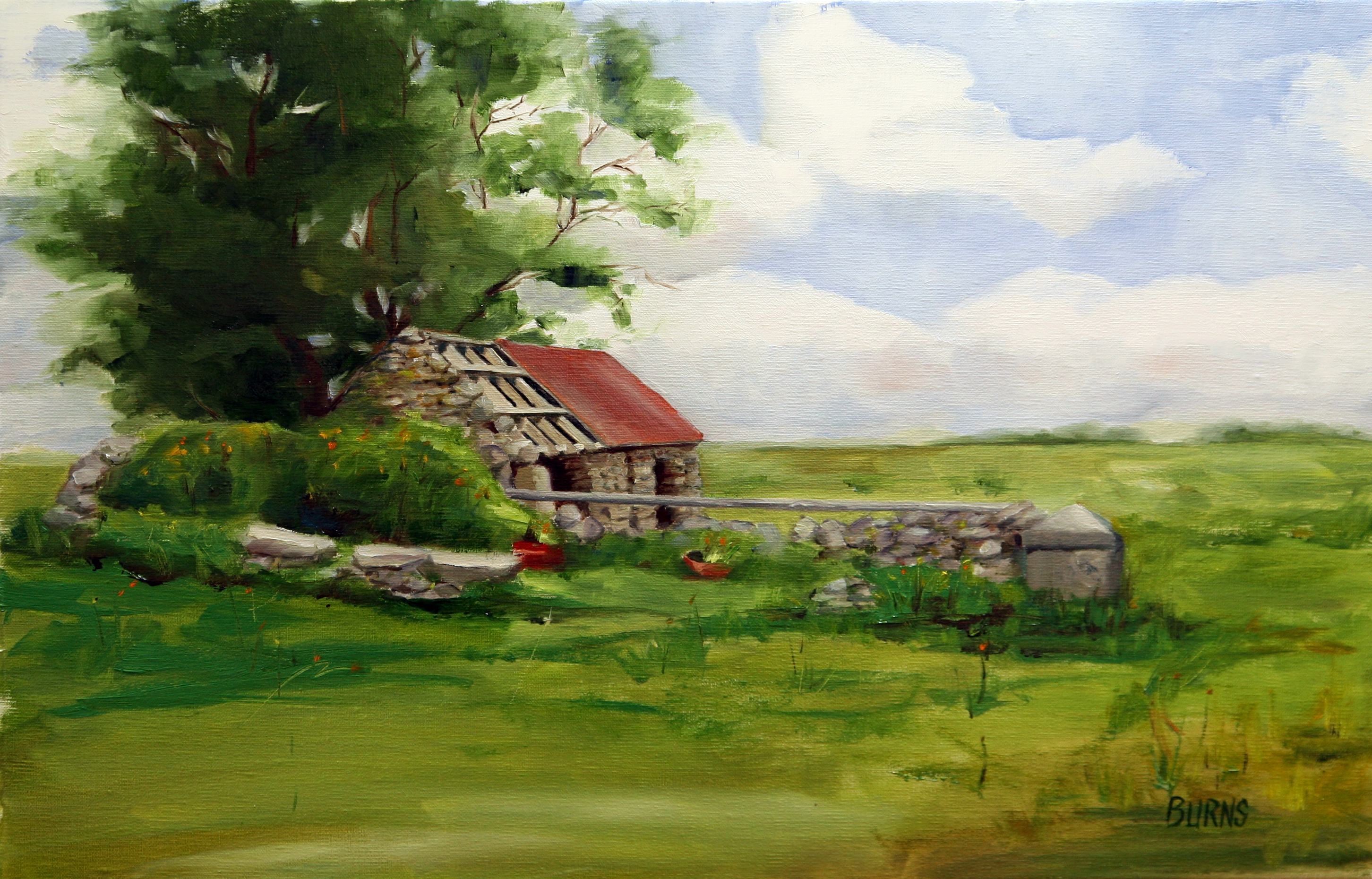 Irish painting