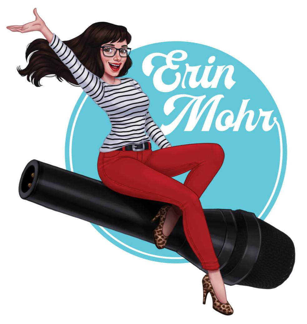 Pin Up Erin