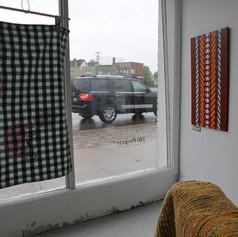 Chambre avant Nord - Vue vers la vitre