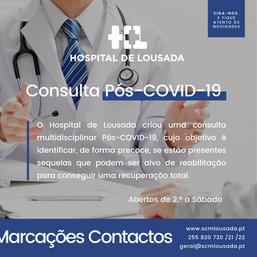 Hospital de Lousada - Consulta-Pós-COVID-19
