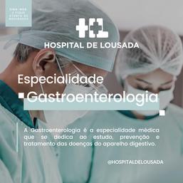 Gastroenterologia - Hospital de Lousada