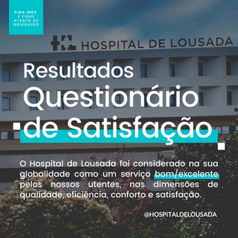Questionário de Satisfação - Hospital de Lousada