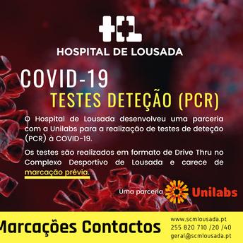 Hospital de Lousada - Testes COVID-19