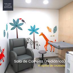 Sala de Colheitas - Hospital de Lousada