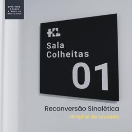 Sinaletica - Hospital de Lousada
