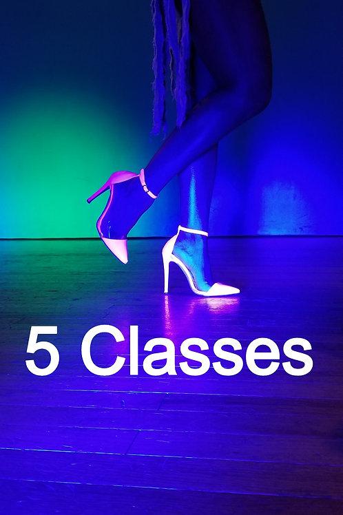 5 Class Pack