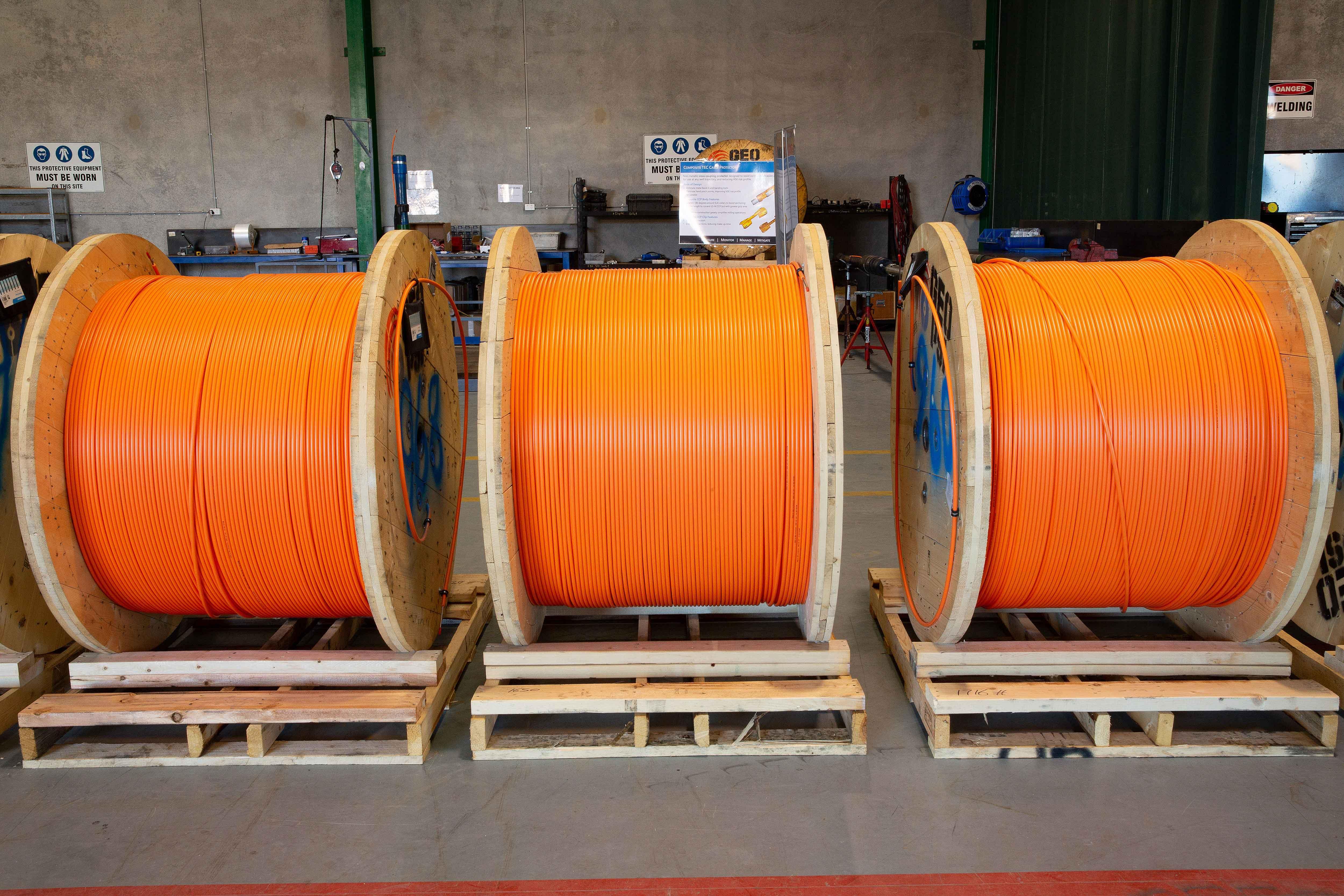 Downhole TEC Cable
