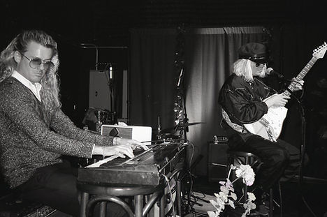 John Carroll Kirby and Connan Mockasin