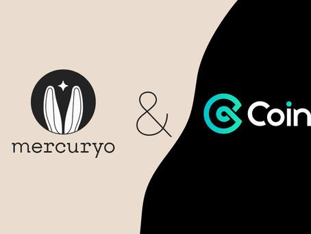 شراكة CoinEx مع Mercuryo