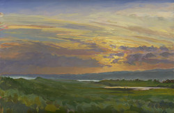 End of the Day, Quenames Cove and Chilmark Pond