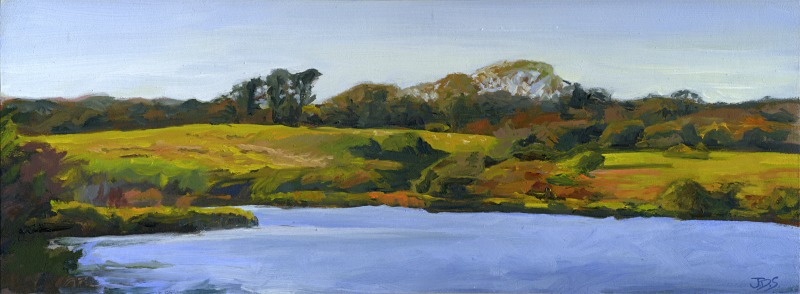 Grazing Sheep, Looking Over Chilmark Pond.jpg