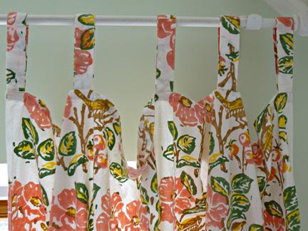 Pamela; Cotton Tabs Detail