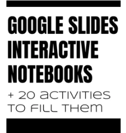 Google Slides Interactive Notebooks, New and Improved Flippity, and The Most Dangerous Writing App