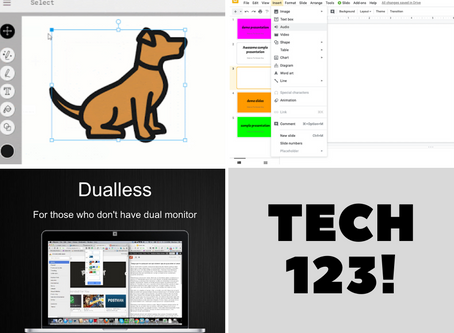 AutoDraw, Insert Audio Into Slides, and Duallness