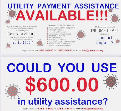 Utility Payment Assistance