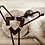 Thumbnail: רגלי ראש סיכה - יחידה גובה לבחירה צבע שחור/ לבן