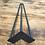 Thumbnail: רגלי יהלום ראש סיכה - יחידה גובה לבחירה שחור/לבן