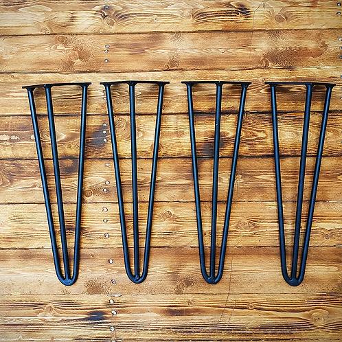 רגלי יהלום ראש סיכה - יחידה גובה לבחירה שחור/לבן