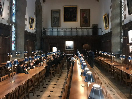Schola sings at New College, Oxford