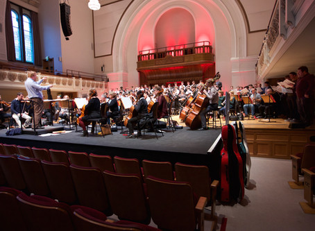Rehearsal photos from Fortieth Anniversary Concert