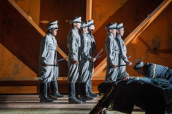 Billy Budd - Benjamin Britten - English National Opera - 18th June 2012Characters in order of singin