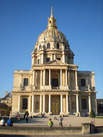 Dome-des-Invalides-Paris-Jules-Hardouin-