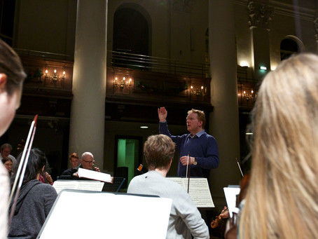 Schola sings Messiah at St John's, Smith Square