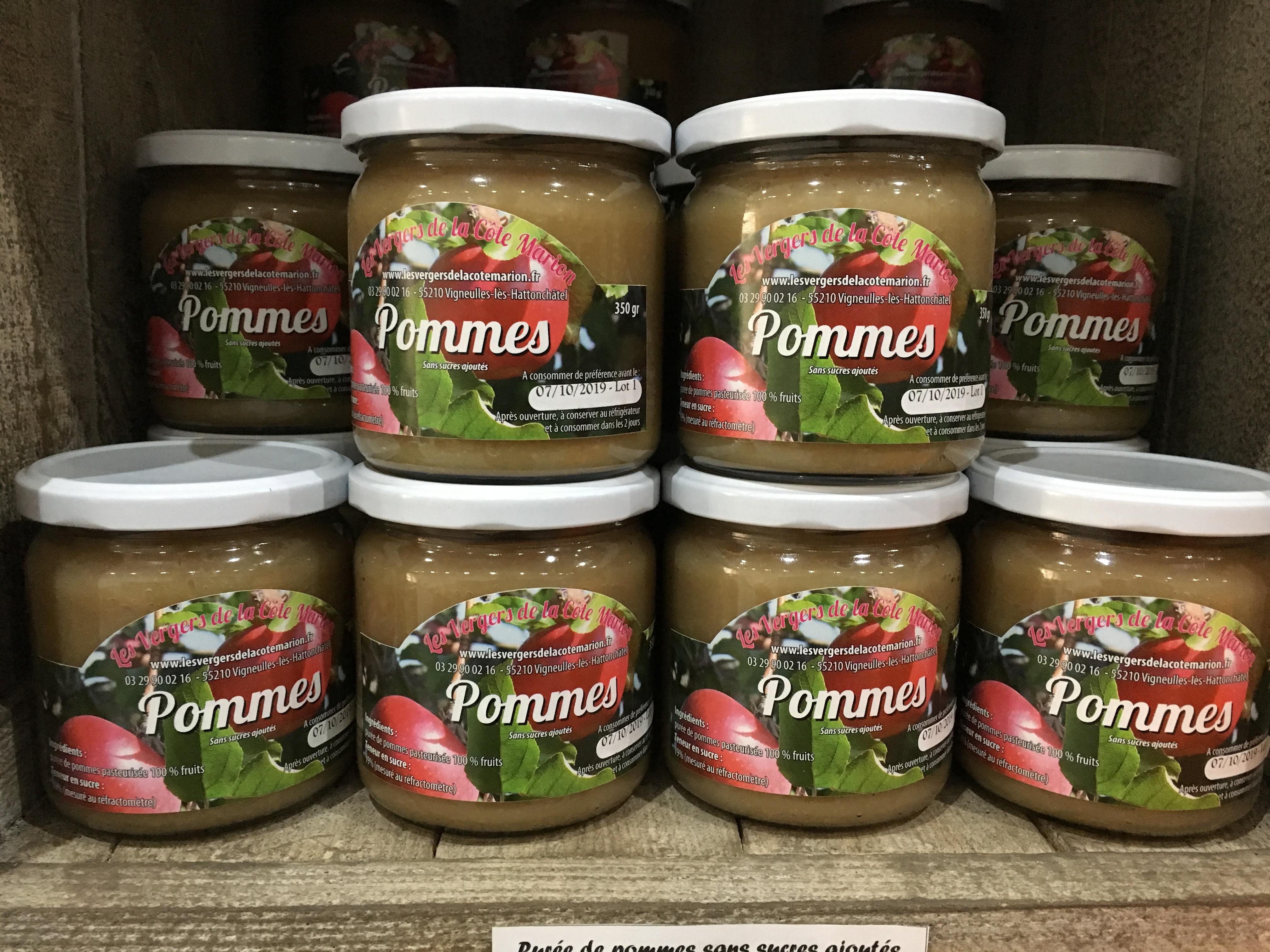 Purée de Pomme - 100% fruits