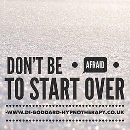 DONT BE AFRAID TO START OVER WEIGHT LOSS
