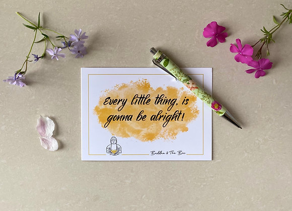 Every Little Thing A6 Greetings Card