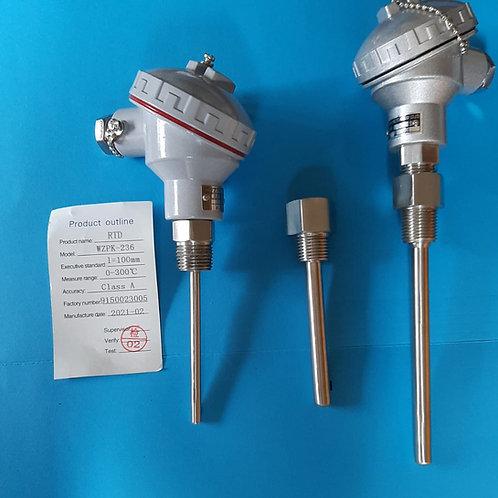 Sensor de temperatura RTD y termopozo