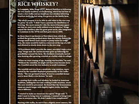Rice Whiskey?