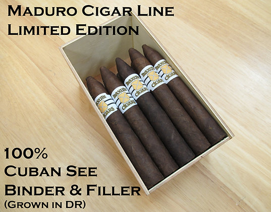 SPECIAL- Ltd. Edition Maduro/Connecticut Box of 25