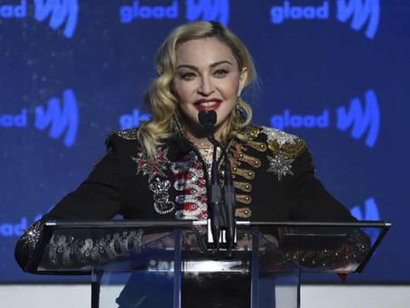 Το Instagram της Madonna επισημάνθηκε για τη διάδοση παραπληροφόρησης για covid-19