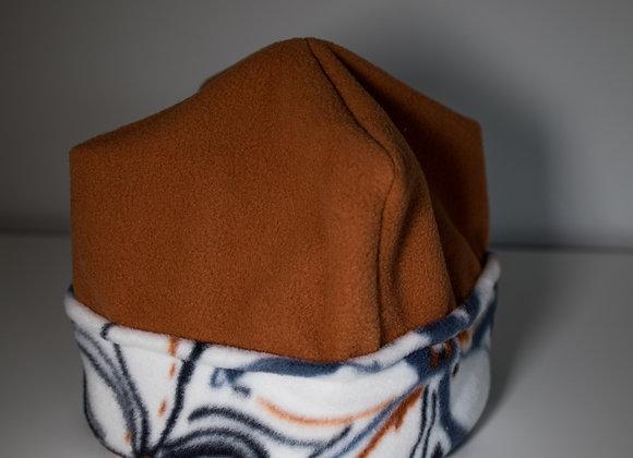 Cozy Hat - Burnt Orange & Aloha