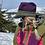 Thumbnail: Cozy Hat - Terracotta & Grey