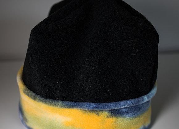 Cozy Hat - Black & Watercolor