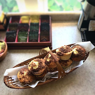 We make muffins every Friday, Saturday,