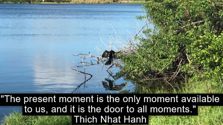 The present moment...