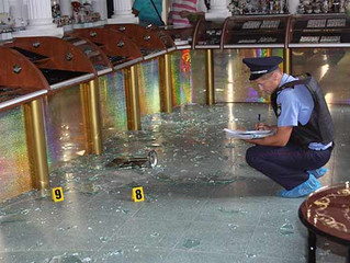 Злочинці на «Ауді» пограбували ювелірний магазин у центрі Монастирища