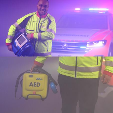 Mein Weg zum Zoll AED 3 - BLS