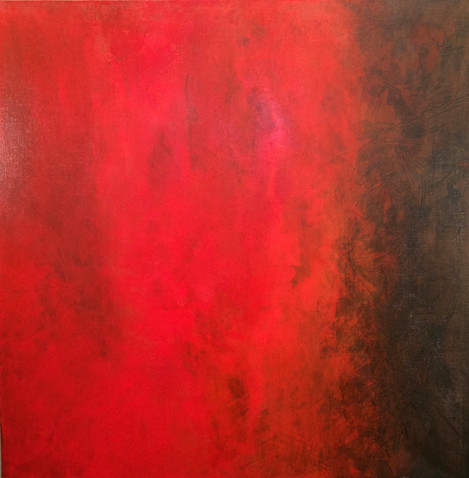 Triptyque rouge 3/3